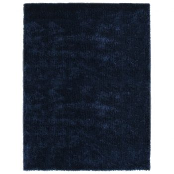 Košata preproga 160x230 cm modra