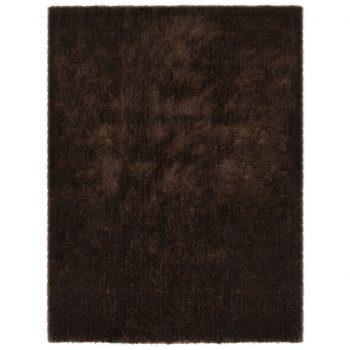 Košata preproga 160x230 cm rjava