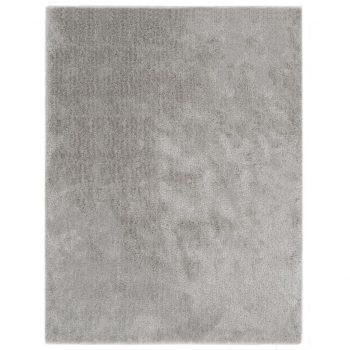 Košata preproga 160x230 cm siva