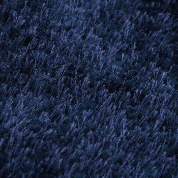 Košata preproga 80x150 cm modra