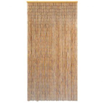 Komarnik za vrata iz bambusa 100x200 cm