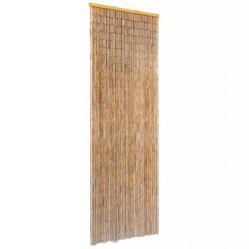 Komarnik za vrata iz bambusa 56x185 cm