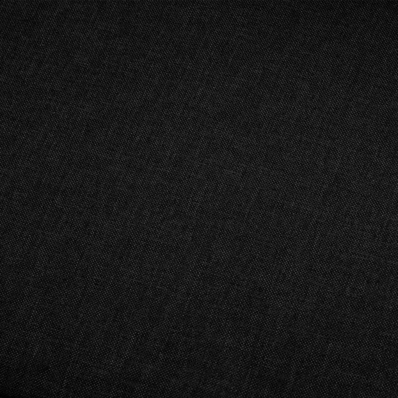 Kotni kavč iz črnega blaga