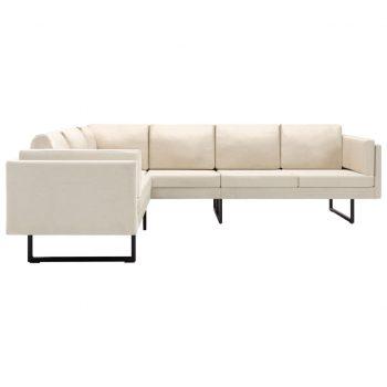 Kotni kavč krem blago