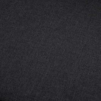 Kotni kavč temno sivo blago