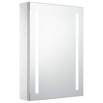 LED kopalniška omarica z ogledalom 50x13x70 cm