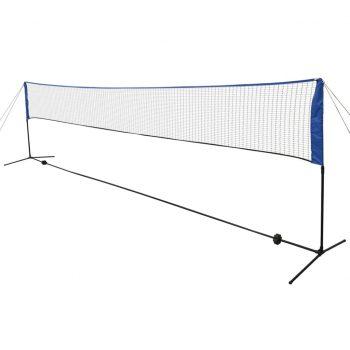 Mreža za badminton s perjanicami 600x155 cm