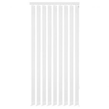 Navpično Senčilo za Okno Bele Barve Blago 120x250 cm