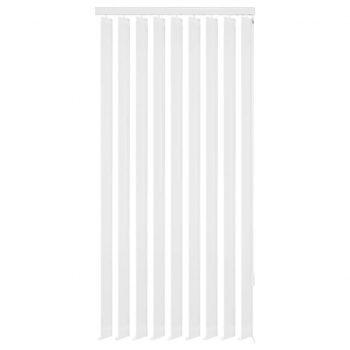 Navpično Senčilo za Okno Bele Barve Blago 150x250 cm