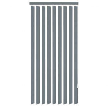 Navpično Senčilo za Okno Sivo Blago 120x250 cm