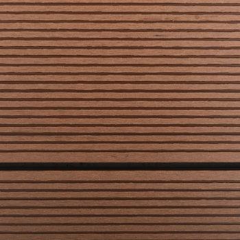 Podstavek za zunanji tuš WPC nerjaveče jeklo 110x62 cm rjav