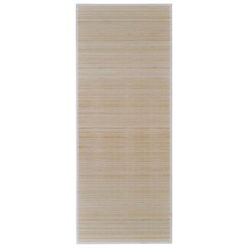 Pravokotna Preproga iz Naravnega Bambusa 150 x 200 cm