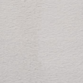 Preproga 140x200 cm umetno zajčje krzno siva