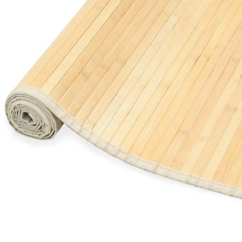 Preproga iz bambusa 80x200 cm naravna
