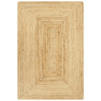 Preproga iz jute ročno izdelana naravna 80x160 cm