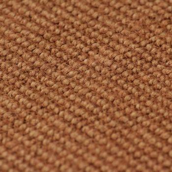 Preproga iz jute s podlogo iz lateksa 190x240 cm rjava