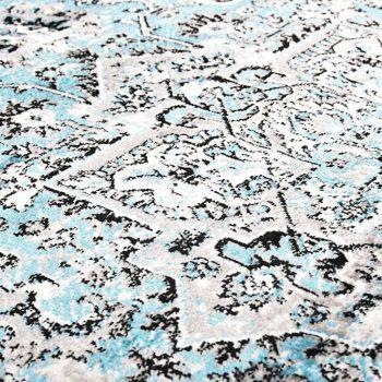 Preproga svetlo modra 140x200 cm PP