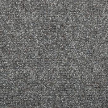 Preproge za stopnice 15 kosov 65x25 cm svetlo sive