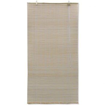 Rolo senčilo iz bambusa 100x220 cm naravne barve
