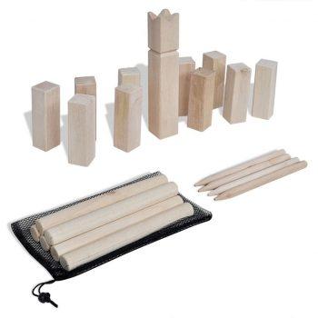 Set lesenih kock za igro Kubb