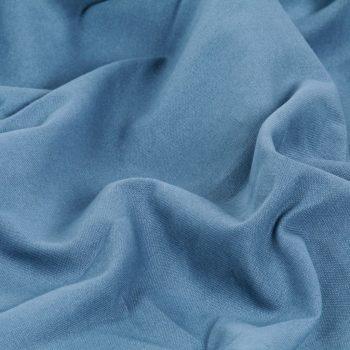 Zavese s kovinskimi obročki 2 kosa bombaž 140x245 cm modre