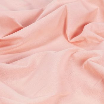 Zavese s kovinskimi obročki 2 kosa bombaž 140x245 cm roza