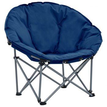 Zložljivi okrogli stoli 2 kosa modri