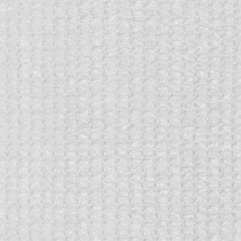 Zunanje rolo senčilo 100x140 cm bele barve