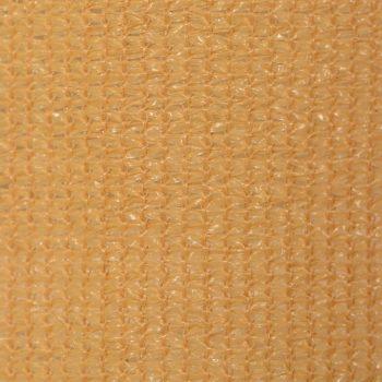 Zunanje rolo senčilo 140x140 cm bež barve