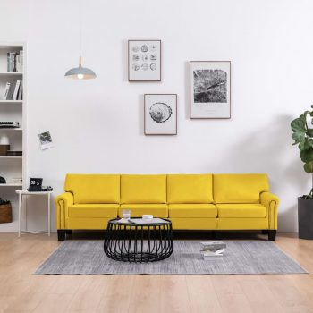 Kavč štirised rumeno blago