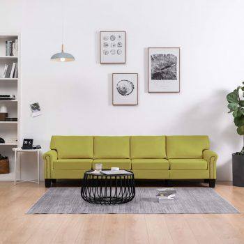 Kavč štirised zeleno blago