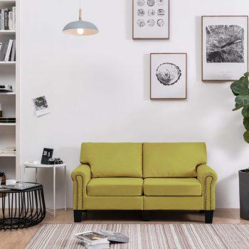 Kavč dvosed zeleno blago