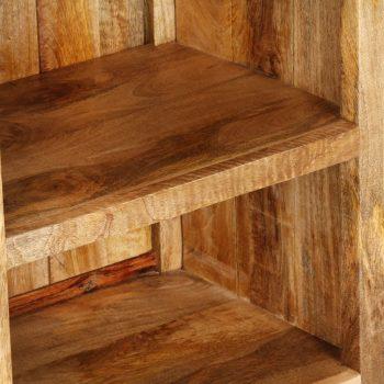 Knjižna omara 50x35x90 cm trden mangov les
