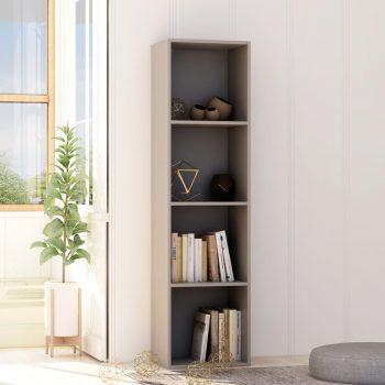Knjižna omara siva 40x30x151