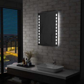 Kopalniško LED stensko ogledalo 60x80 cm