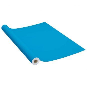 Samolepilna folija za pohištvo sinje modra 500x90 cm PVC
