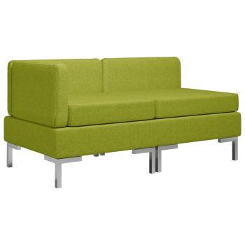 Sedežna garnitura 2-delna blago zelena