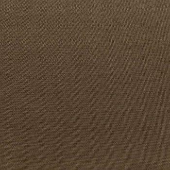 Sekcijski stolček za noge z blazino blago rjav