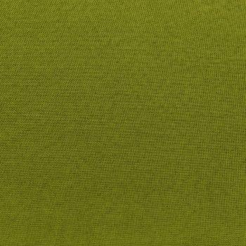 Sekcijski stolček za noge z blazino blago zelen