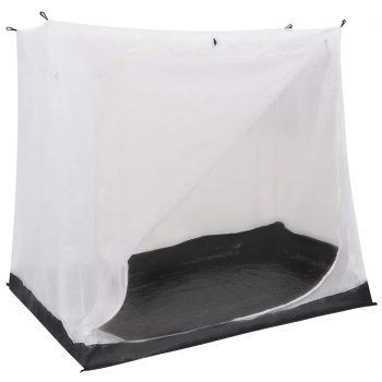 Univerzalna spalnica za šotor siva 200x180x175 cm