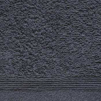 Brisače za goste 10 kosov bombaž 450 gsm 30x50 cm antracitne