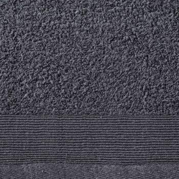 Brisače za roke 2 kosa bombaž 450 gsm 50x100 cm antracitne