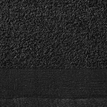 Brisače za roke 2 kosa bombaž 450 gsm 50x100 cm črne