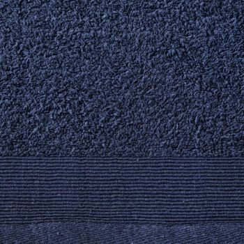 Brisače za roke 2 kosa bombaž 450 gsm 50x100 cm mornarsko modre