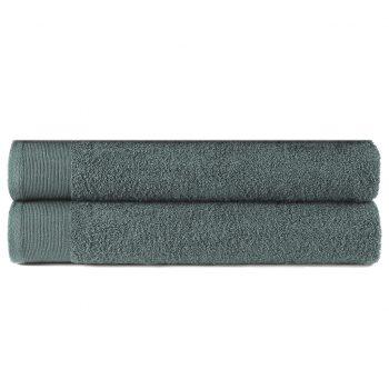 Brisače za roke 2 kosa bombaž 450 gsm 50x100 cm zelene