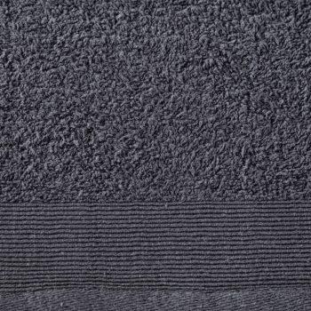 Brisače za savno 5 kosov bombaž 450 gsm 80x200 cm antracitne