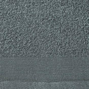 Brisače za savno 5 kosov bombaž 450 gsm 80x200 cm zelene