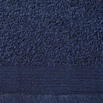 Brisače za savno 5 kosov bombaž 450gsm 80x200cm mornarsko modre