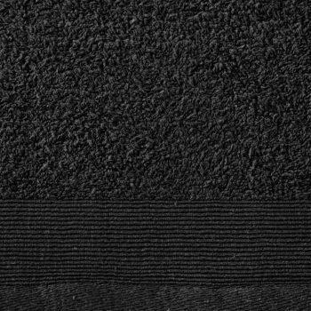 Brisače za tuširanje 5 kosov bombaž 450 gsm 70x140 cm črne