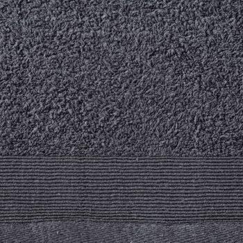 Brisače za tuširanje 5 kosov bombaž 450 gsm 70x140cm antracitne